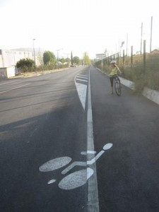 Légende pistes cyclables
